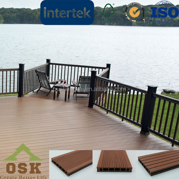 unique design modern waterproof outdoor decking boards