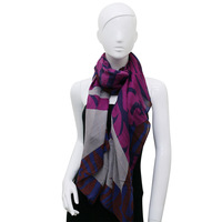 High quality cheap 100 polyester scarf