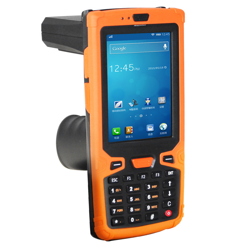Jepower HT380A Quad-Core Android PDA with UHF RFID Reader with barcode scanner/WIFI/GPS/3G