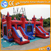 red and blue color Inflatable Toys Jumping Castle, Giant Inflatable Slide for kids