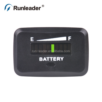 Panel mounted Mini LED Battery Discharge Indicator Battery meter for Electric Lift