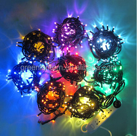 2016 china supplier 100 led christmas garden solar powered led fairy string light