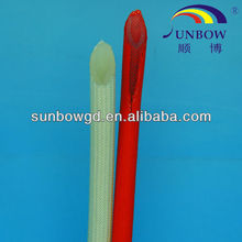 Cable Terminal Connection Silicone Rubber Glassfiber Sleeve(Inside Rubber & Outside Fiber)