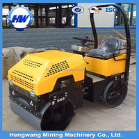 Manufacturer 1T Ride on Compactor Roller Asphalt Road Roll for sale