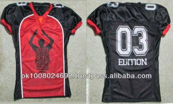 women customs sublimated american football jerseys