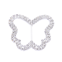 Vintage Elegant Butterfly Shape Ross Crystal