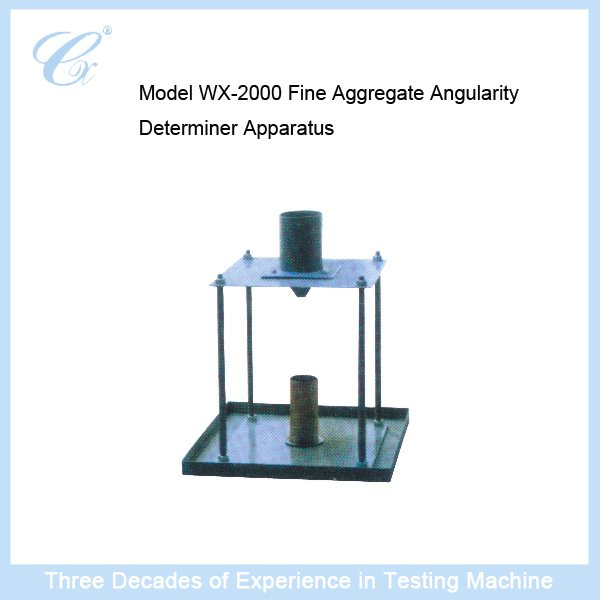 WX-2000 Fine Aggregate Angularity Determiner Apparatus