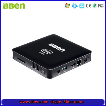 New Product BBEN MN11 Intel Cherry trail Z8350 Windows10 mini PC box with 2GB/4GB RAM 32/64GB EMMC