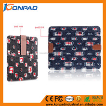 Wash Jean cloth flip case for 7 inch tablet,case tablet,leather case for 8 inch tablet pc