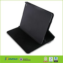 High Quality Solar Power stand leather case for ipad 234
