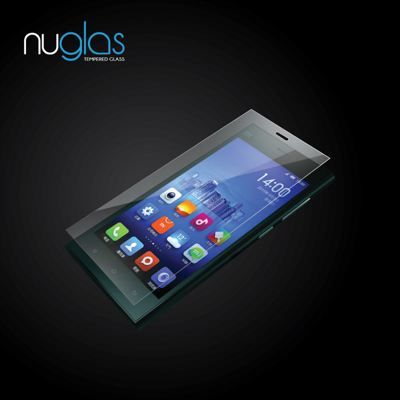 hd high clear cell phone screen protector for xiaomi mi3