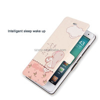 Hot Luxury Painting Magnetic Flip Cover Stand Leather Phone Case Skin For Xiaomi 4C