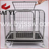 Hot Sale Galvanized Metal Dog Aluminium Cage And XXL Dog Crate