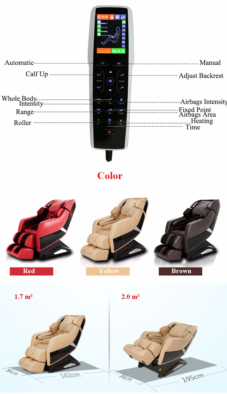 Luxury Thai Shiatsu Massage Chair