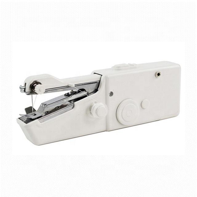Mini Portable Needlework Cordless Hand-Held Clothes Fabrics Sewing Machine Gut