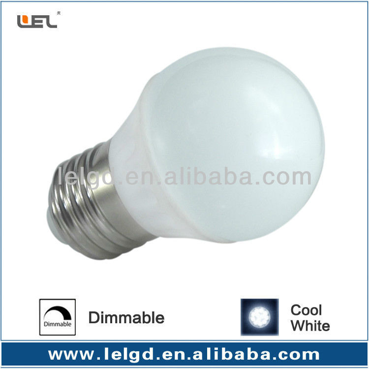 flame frosted bulb e27 G45 ceramic housing bulb 3w smd5730 led bulb ushine light science and technology shanghai