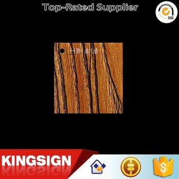 Best price rigid 8x4 feet wood grain acrylic sheet