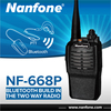 Nanfone 668P Dual Bandwidth Bluetooth Two Way Radio