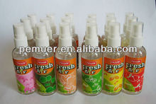 Air condition cleaner spray air freshener for car & home with strong scents made by china manufacturer