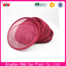 Hot sell cheap high quality fascinator cheap sinamay hat bases