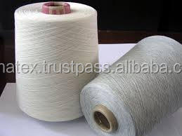 Polyester / Cotton Combed 65/35 Knitting Yarn with 8% Black