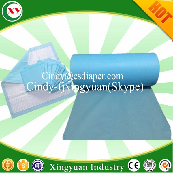Medical Underpad free high quality blue film