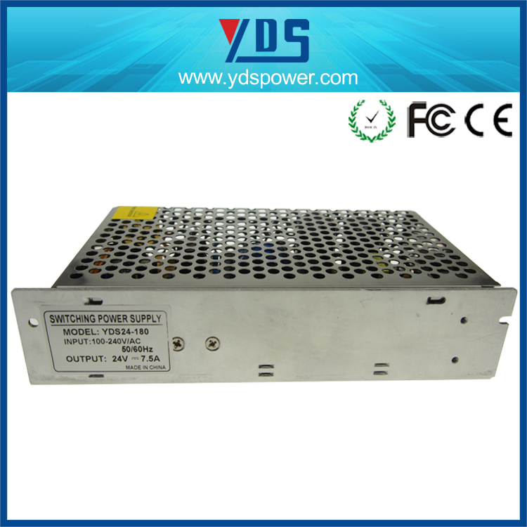 express alibaba , open frame power supply for led cctv camera 24v 150w IP20 power supply smps