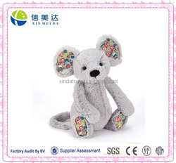 Comfortable Plush Flower Blossom Mouse Stuffed Toy