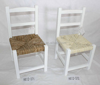 Haixin HX12-371 White Ladder Back Indoor Wood Chairs