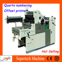 HT56ANP Mini Quarto Numbering Offset Printing Machine For Sale