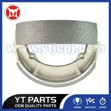 Semi-Metallic Brake Shoe JD125 130MM Size For Motorcycles