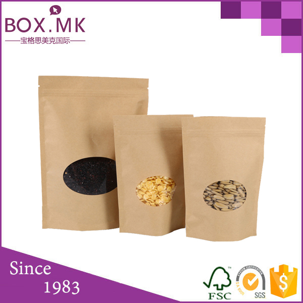 Food Grade Stand Up Pouch sorghum sudan grass seeds packing bag