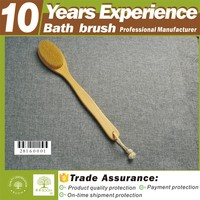 10 years experience professional natural bristle bath body brush factory , Eco-Friendly natural bristle body brush
