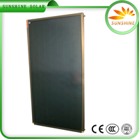 Solar Collector Solar Panel Manufacturers In China Anodizing SSolar Collector For Slope Roof
