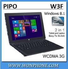 New PIPO W3F tablet PC dual boot OS Intel Z3735F 10.1'' Quad Core 2GB RAM 32GB ROM IPS 1920x1200 Pipo w3 w3f 3G in stock