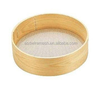 Wood riddle / high quality wood test sieve