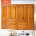 Foshan supplier wholesale custom home furniture modern bedroom 6 doors simple wooden mdf wardrobe designs