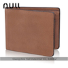 Famous Brand Handmade Durable Quality Customized Bifold Travel Wallet/Leather Men's wallet