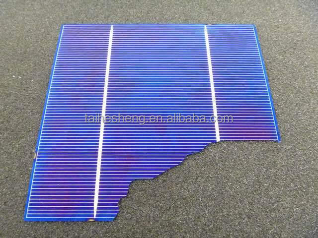 broken mono and poly solar cell made in Taiwan high efficiency