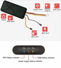 Real-time ACC tracking gps gprs position locator 2016 car gps tracker