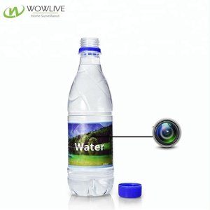 Portable Micro Pinhole Lens Full HD 1080P Motion Security Spy Hidden Drinking Water Bottle Camera