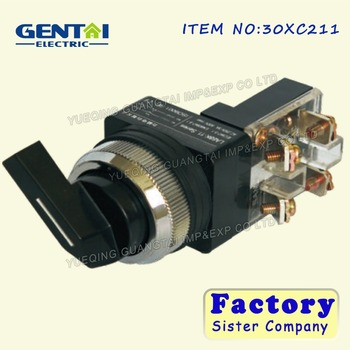 long handle rotary selector switch