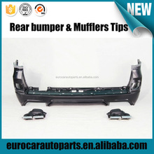 NEW Design w style lc200 2016 year for toy-ta land crusier LC200 Front bumper rear bumper mufflers Tips 2014y~