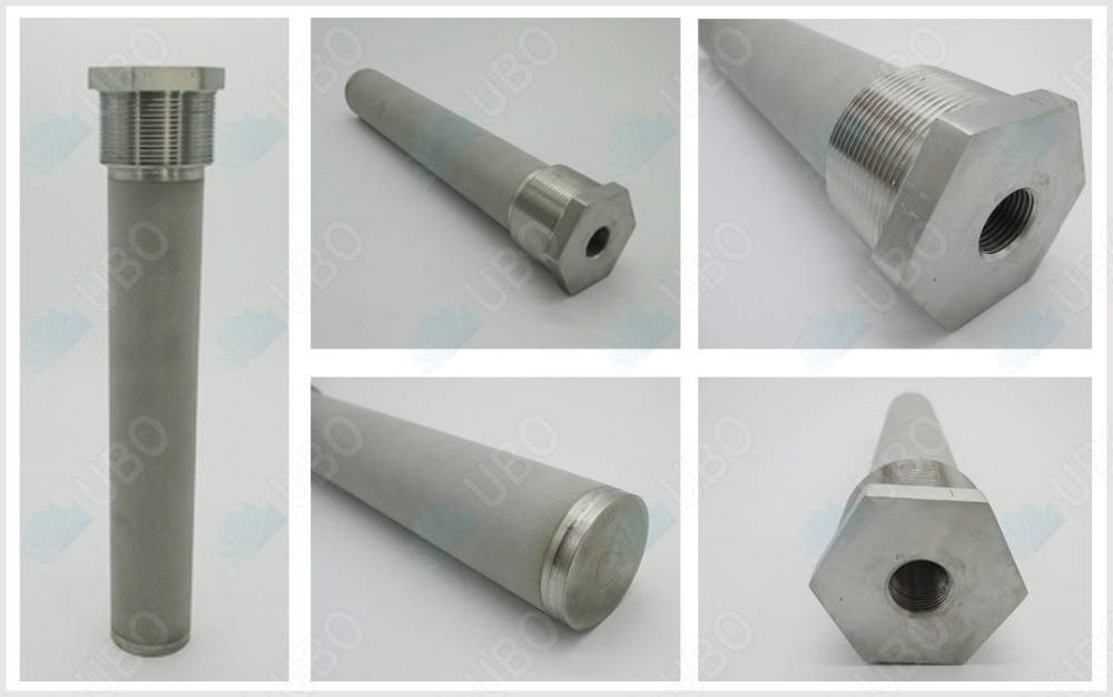 customized and standard sintered porous filter element