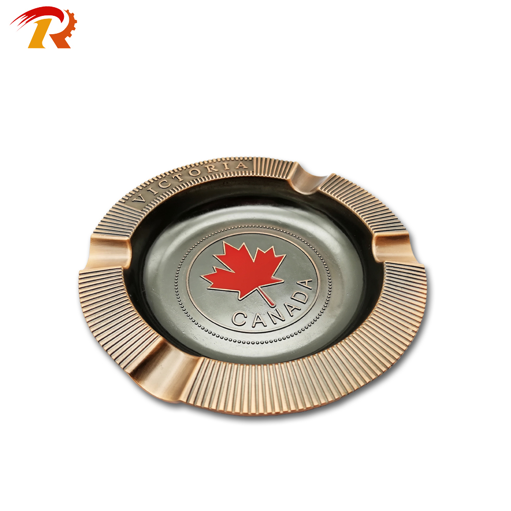 Custom Made Souvenir Metal Antique Gift Ashtray For Sale