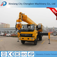 Competitive price mobile 10 ton truck crane all terrain crane for sale