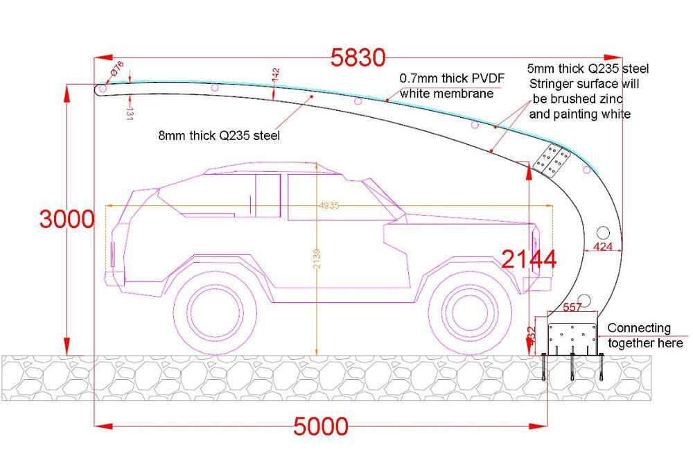 사용 알루미늄 차고 판매/ 알루미늄 차고 캐노피 - Buy Product on ...