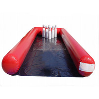 Inflatable Sports Games giant inflatable bowling pins For Kids Bouncer Water Sports Game