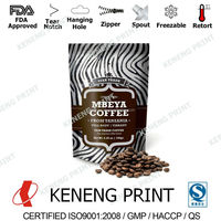 Instant Coffee Packaging Bag, Pouch and Film