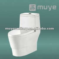 Super whirling siphonic one- piece toilet MY-2148